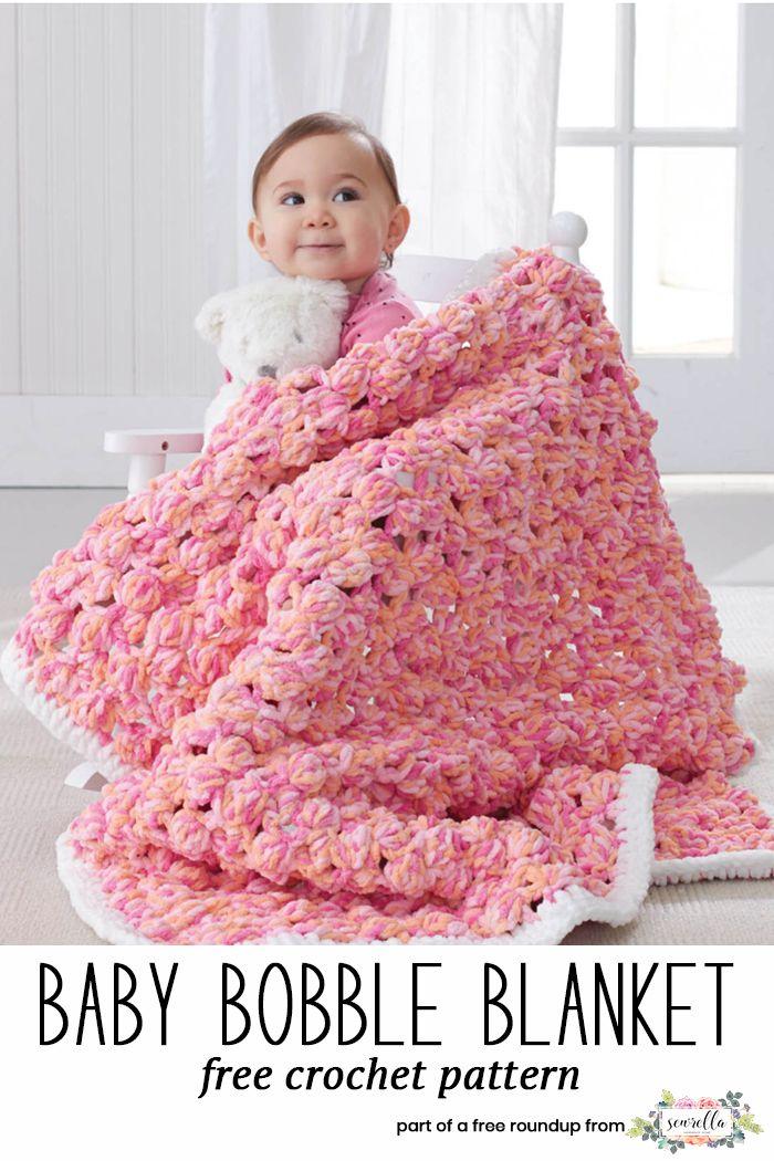 The Best Free Crochet Baby Blankets For Girls Whoot Best Crochet