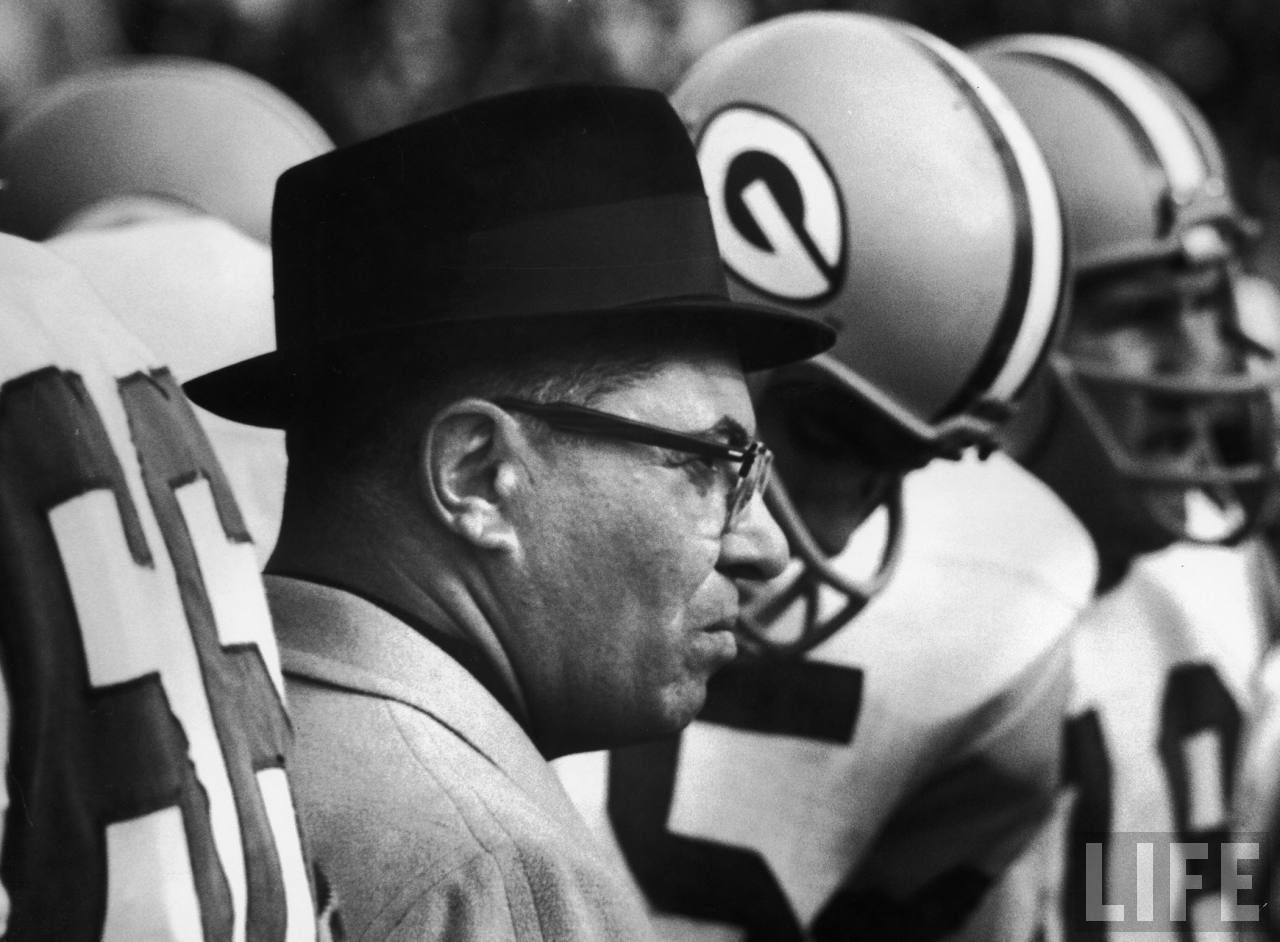 Vince Lombardi Green Bay Packers Football Vince Lombardi Green Bay