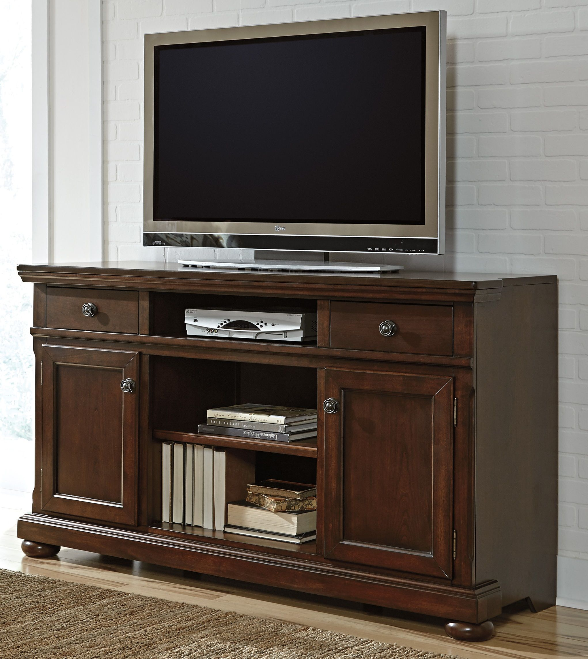 Porter 62 Xtall Tv Stand W697 132 Home Entertainment From