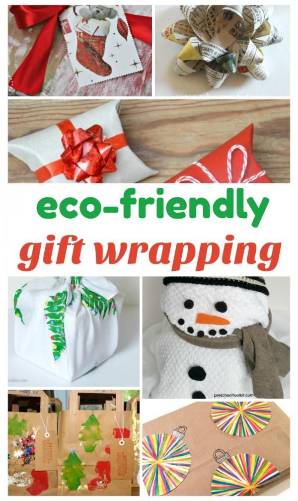 Eco-Friendly Gift Wrapping Alternatives | Christmas | Pinterest ...