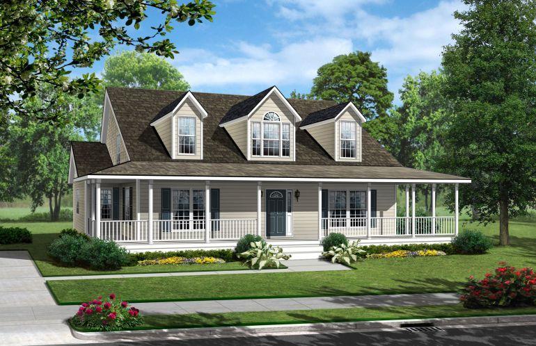 45+ Creative Farmhouse Style Modular Homes in 2020