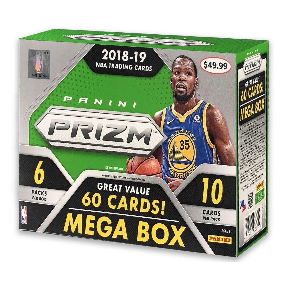 2018 NBA Prizm Mega Box, Collectible Trading Cards
