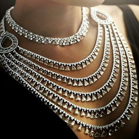 @thejewellcloset. Maharani  necklace by  Nirav Modi.