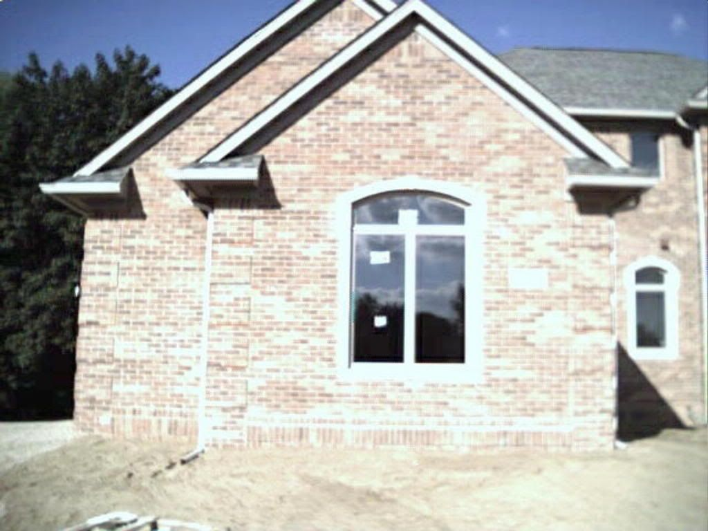 Brick vector picture brick quoin corners house for Quoined brick corners