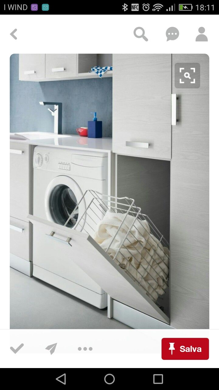 Small Laundry ClosetSmall ClosetsSmall Laundry AreaSmall Master Closet Laundry In BathroomNarrow ClosetLinen ClosetsLaundry Room DesignLaundry Room  Shelving
