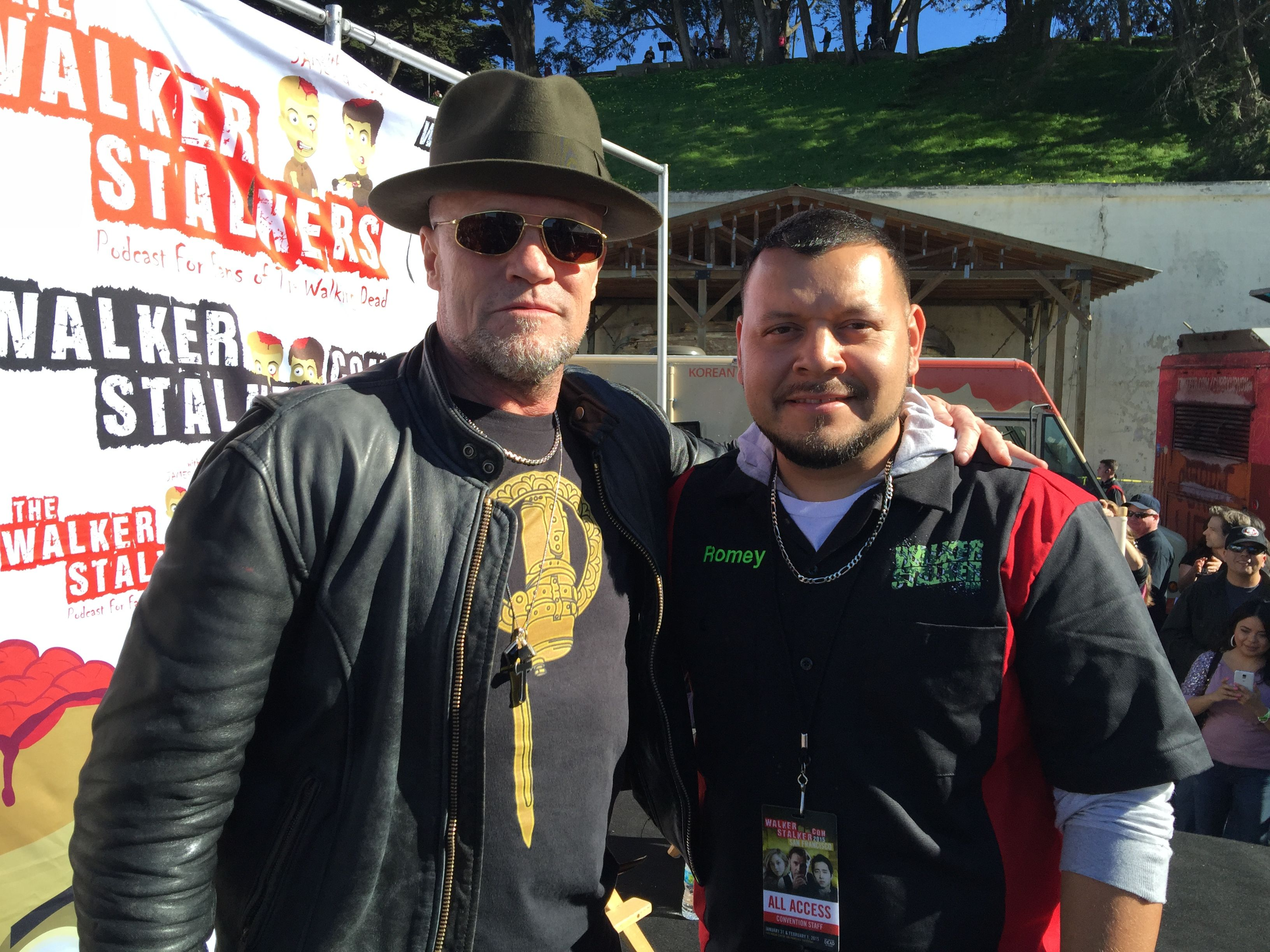 At Walker Stalker Con San Francisco With The Awesome