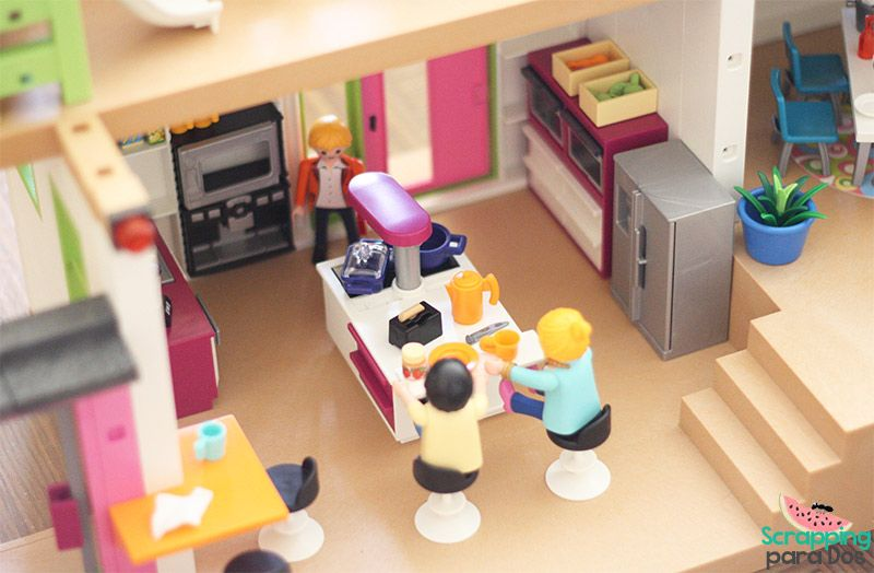 Cocina casa playmobil playmobil pinterest mansiones for La casa de playmobil