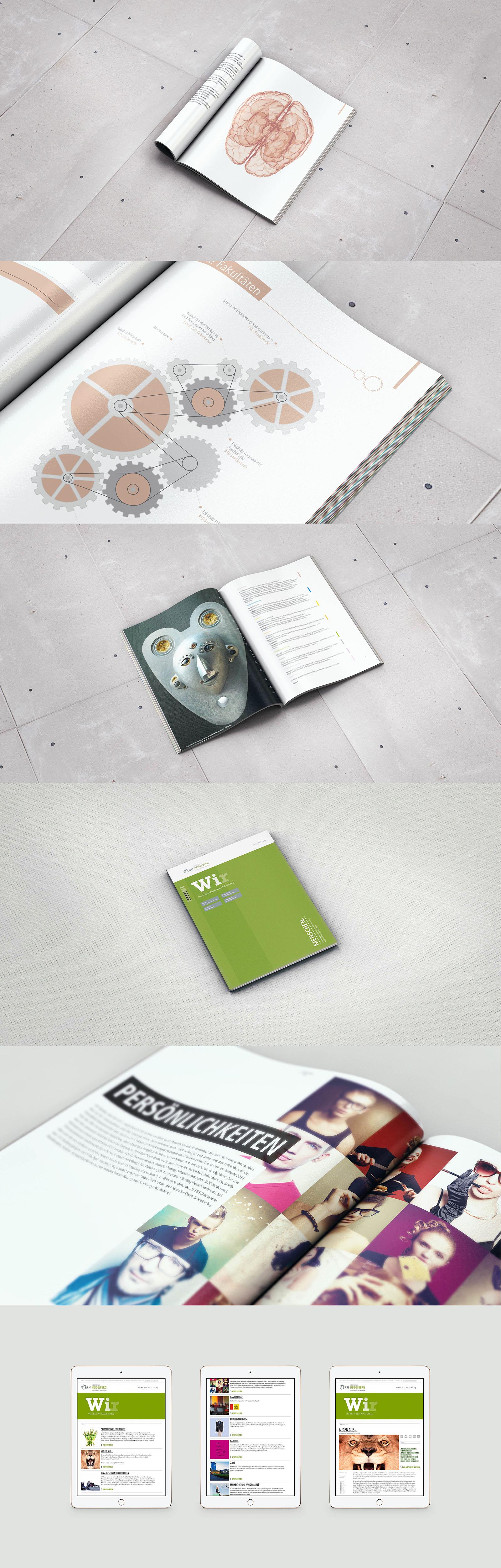 Jahresbericht, Magazin, Newsletter, Print, Digital, Web, annual reports, design