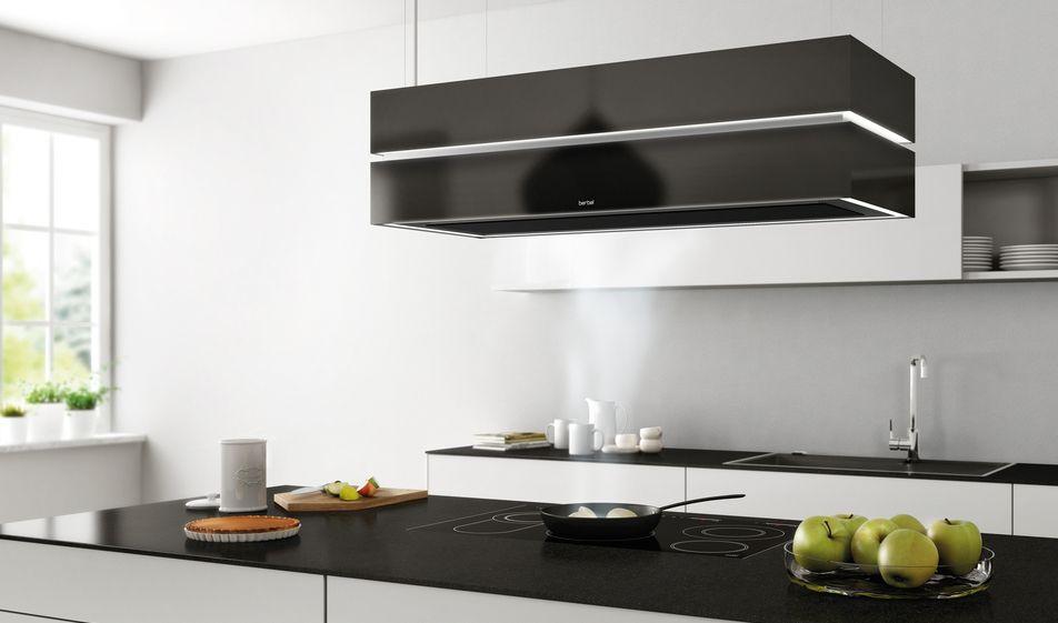 Berbel Ablufttechnik berbel ablufttechnik deckenlifthaube skyline edge 2015 kitchen