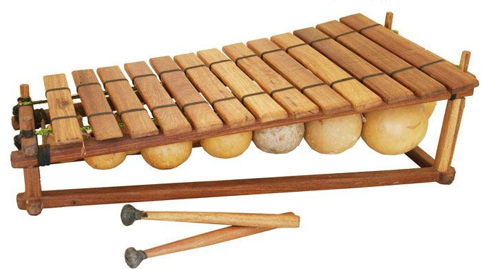 Traditional African Wooden Xylophone Instrument On Stock ...  |African Wooden Xylophone