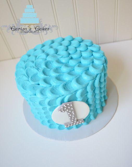 Carisa's Cakes: Boy Smash Cake