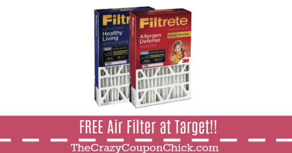 *FREE* Filtrete Air Defense Filter at Target! Filters