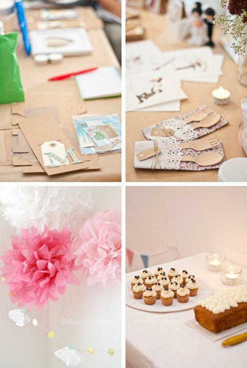 Fácil y Sencillo: Crónica Taller Wedding Crafters - Decora tu Boda
