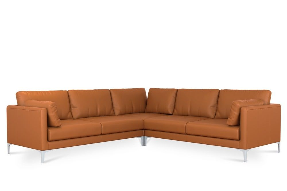 Swell Adams L Shape Sectional Sofa Leather Products In 2019 Ibusinesslaw Wood Chair Design Ideas Ibusinesslaworg