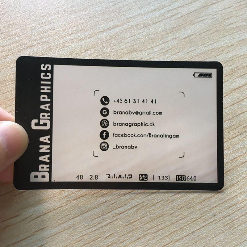 200pcs/one design Customized pvc plastic card matte business card ...