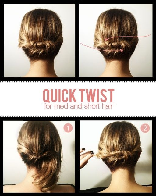 Short Stuff Up Do S Pinterest Short Hair Styles Hair Styles