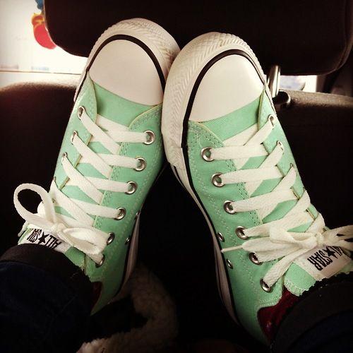 Best 25 Mint Converse Ideas On Pinterest Converse Shoes