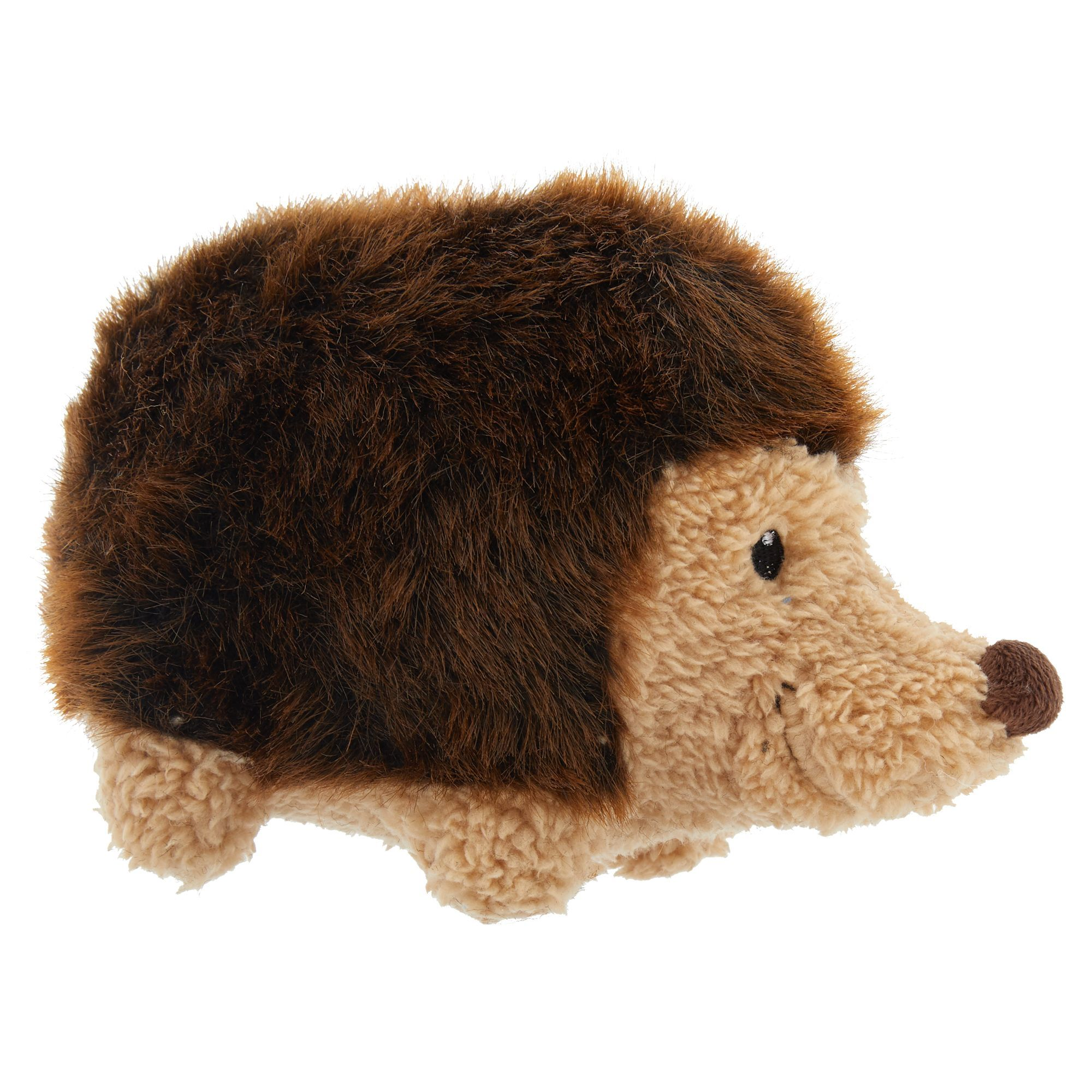 Toys R Us Hedgehog Dog Toy Plush Squeaker Hedgehog