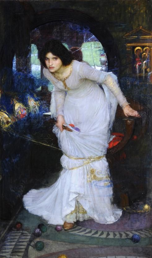 john william waterhouse - the lady of shalot