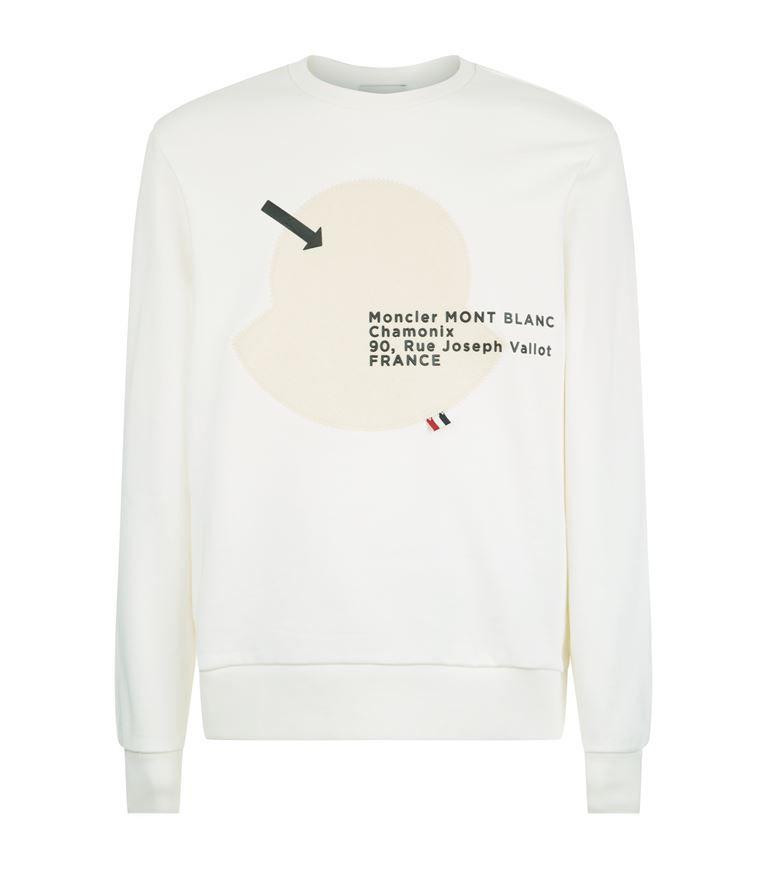 MONCLER Logo Sweatshirt.  moncler  cloth   Moncler, Polo Shirt, Sweatshirt, b1738b74490