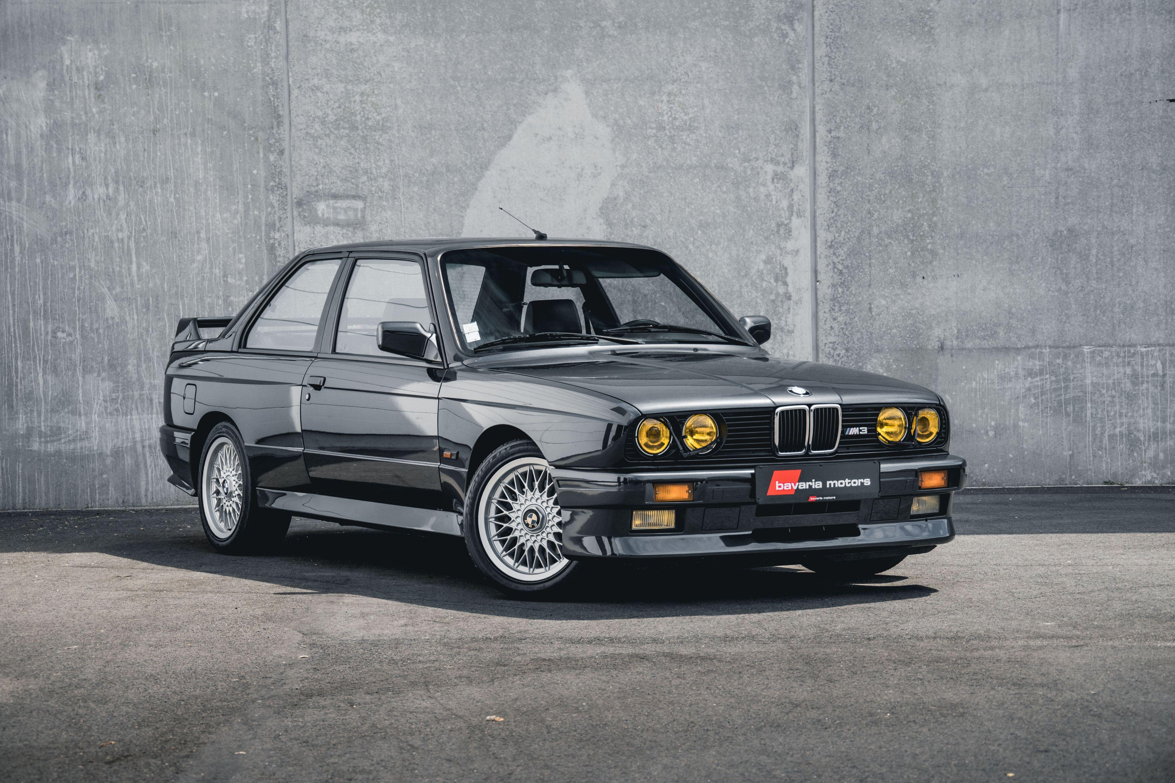 1986 90 E30 M3 Coupe Bmw M3 Coupe Bmw Bmw M3