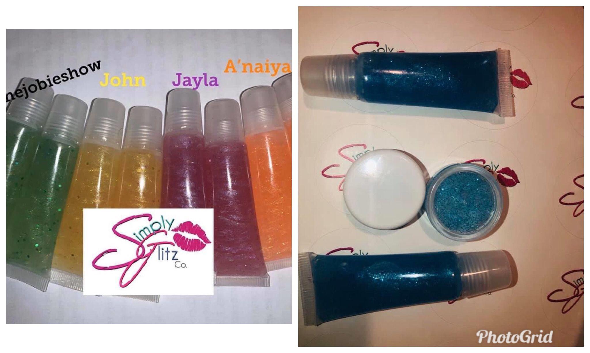 Custom lipgloss lip gloss delta sorority custom