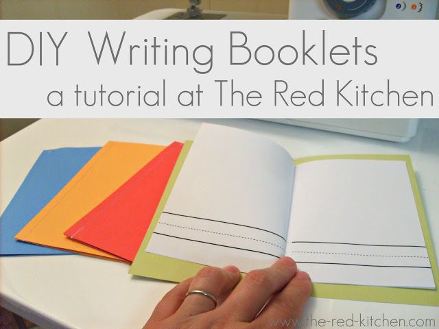 the red kitchen diy writing booklets for preschool and home  the red kitchen diy writing booklets for preschool and home school writing