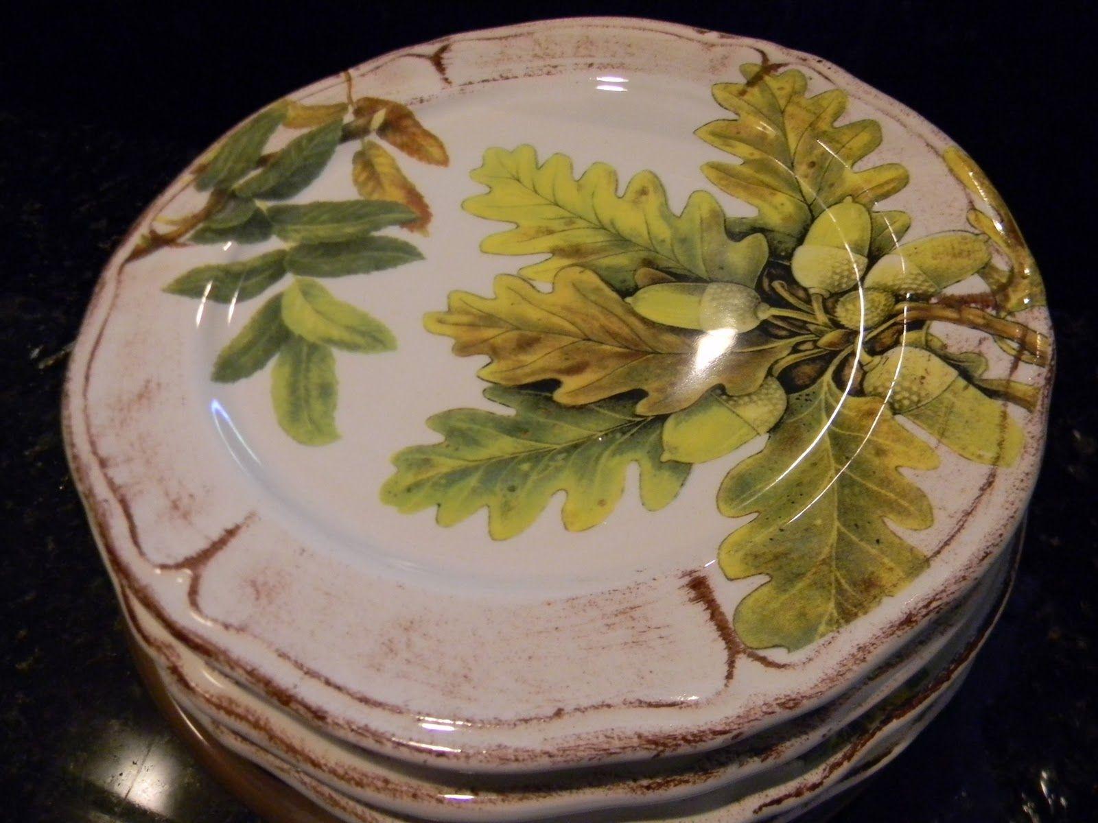 Acorn plates & Acorn plates | Acorn Meadows Cottage | Pinterest | Woods Tablewares ...