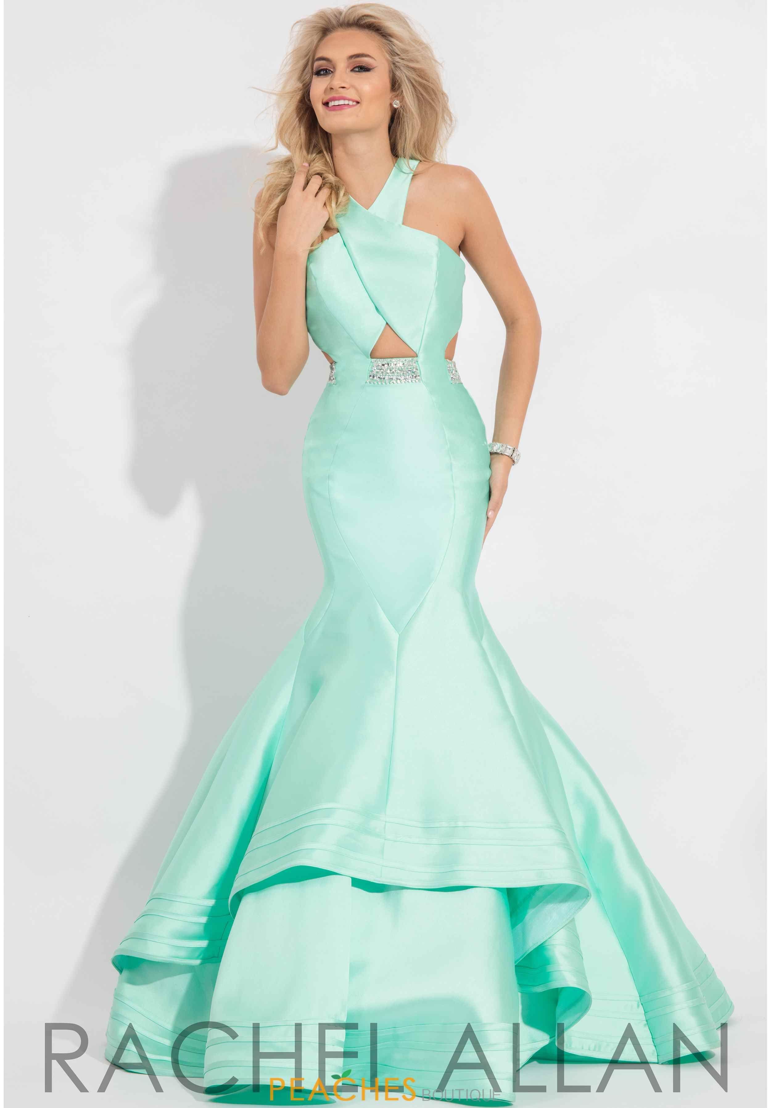 Rachel Allan Mermaid Red Beaded Dress 7593   Prom 2017   Pinterest ...