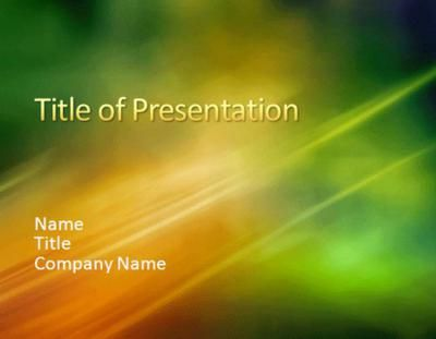 Sample presentation Microsoft PowerPoint Templates | bereket ...