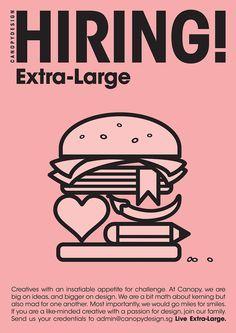 Creative Job Vacancy Poster Design