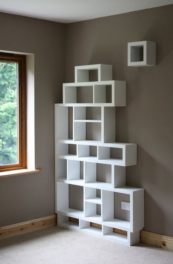 Interesting And Spunky Corner Shelf Ideas For Your Home Hometone