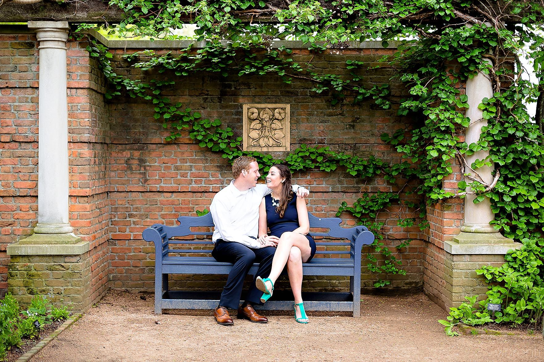 Chicago Botanic Garden Engagement | Photography by Vibrenti: http ...