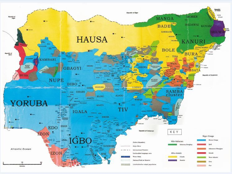 Photos: Maps of All 36 States In Nigeria Showing All Local ...