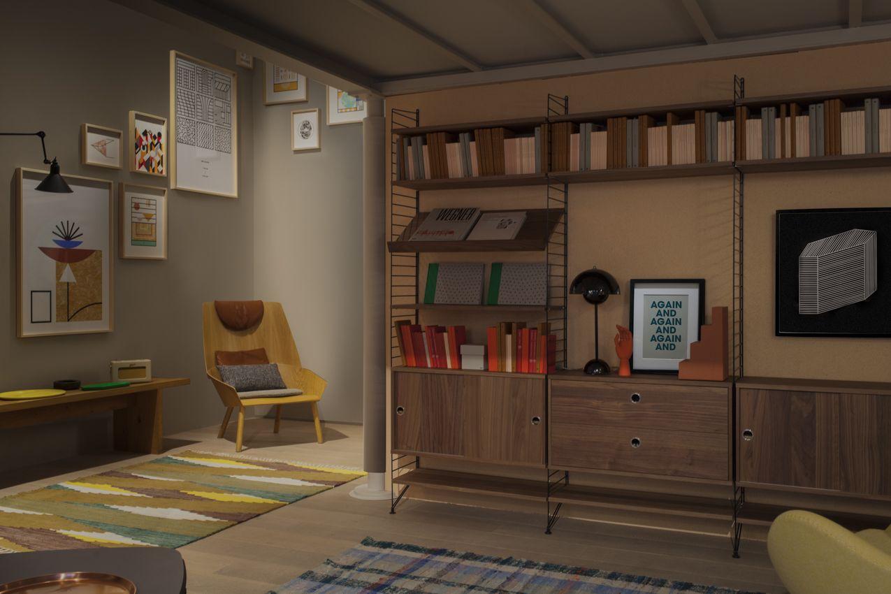 Spotti Milano presents The String Apartment. Setup by Studiopepe. Photo by Silvia Rivoltella.