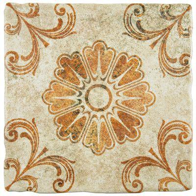 Elitetile Diego 7 75 X 7 75 Ceramic Field Tile In Matte Brown Merola Tile