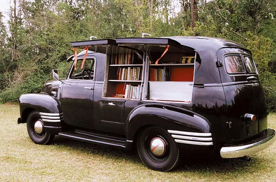 Mobile library   Car\'s & motors cycles   Pinterest   Mobile library ...