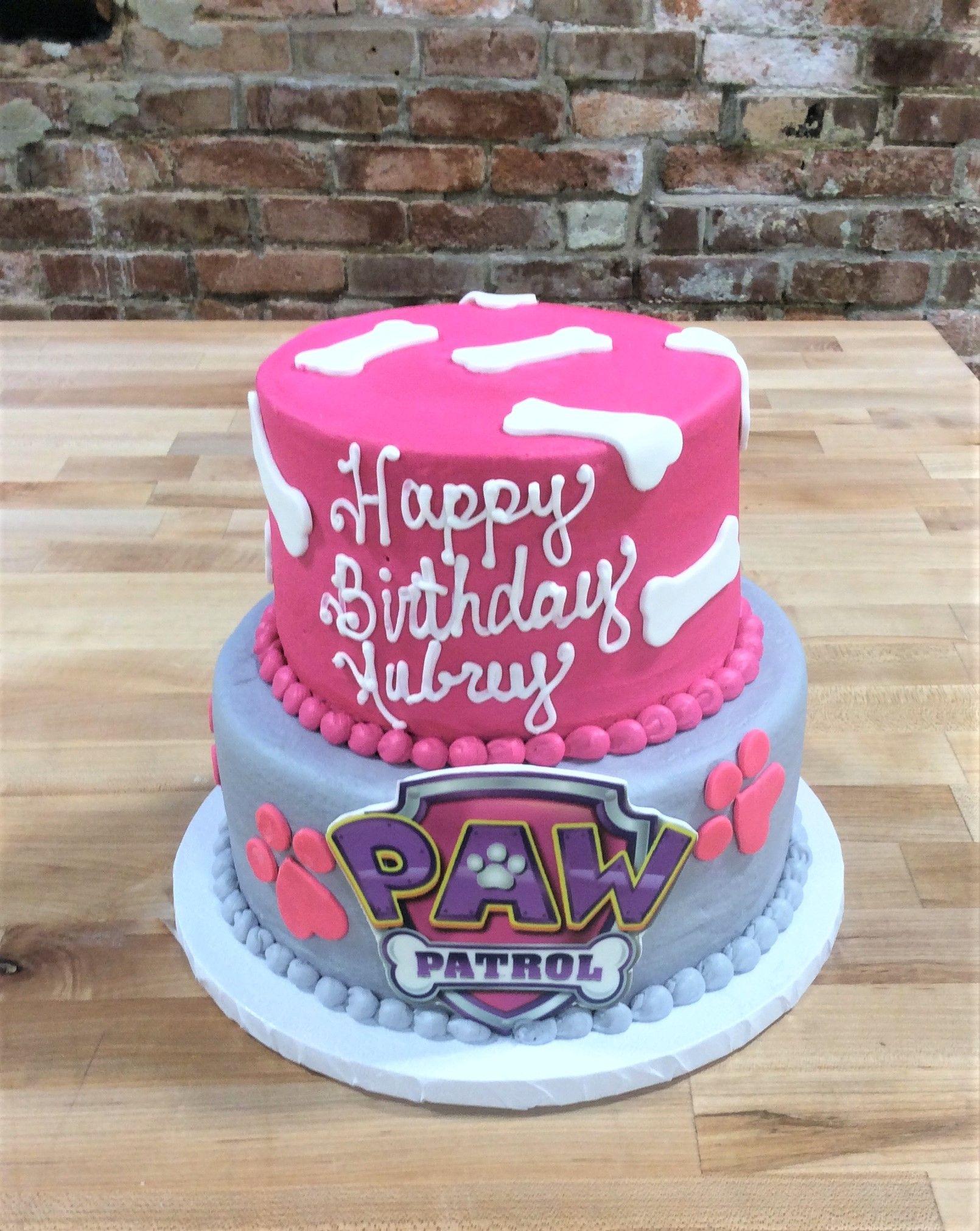 Girlie paw patrol party cake madisonus th birthday pinterest