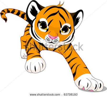 Pin By Shannon Cline On Aprendiendo A Dibujar Baby Tiger Cartoon Tiger Tiger Illustration