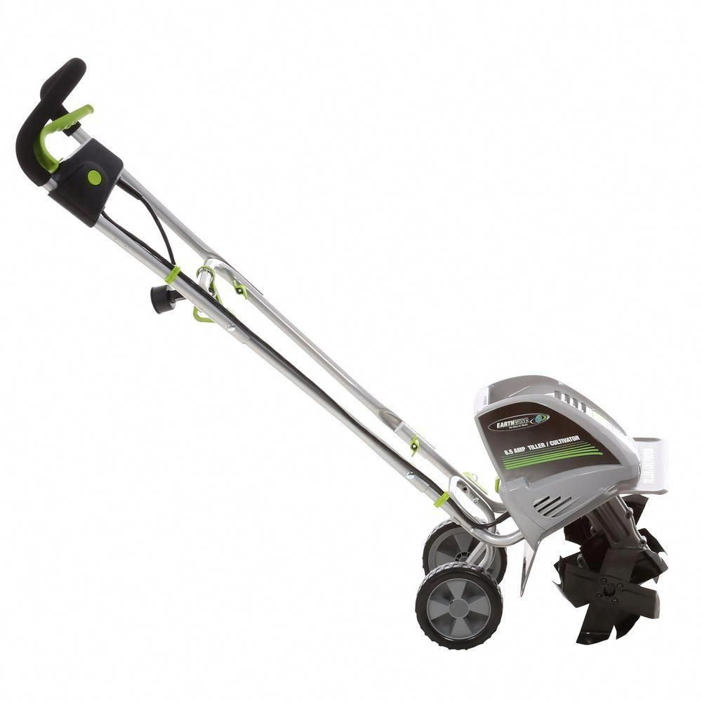 Earthwise 11 In 8 5 Amp Electric Tiller And Cultivator Gardentiller