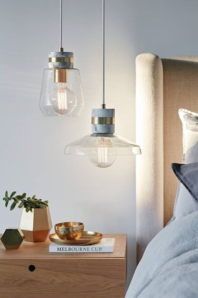 Two Or Three Small Pendants Look Great As Mood Lighting In A
