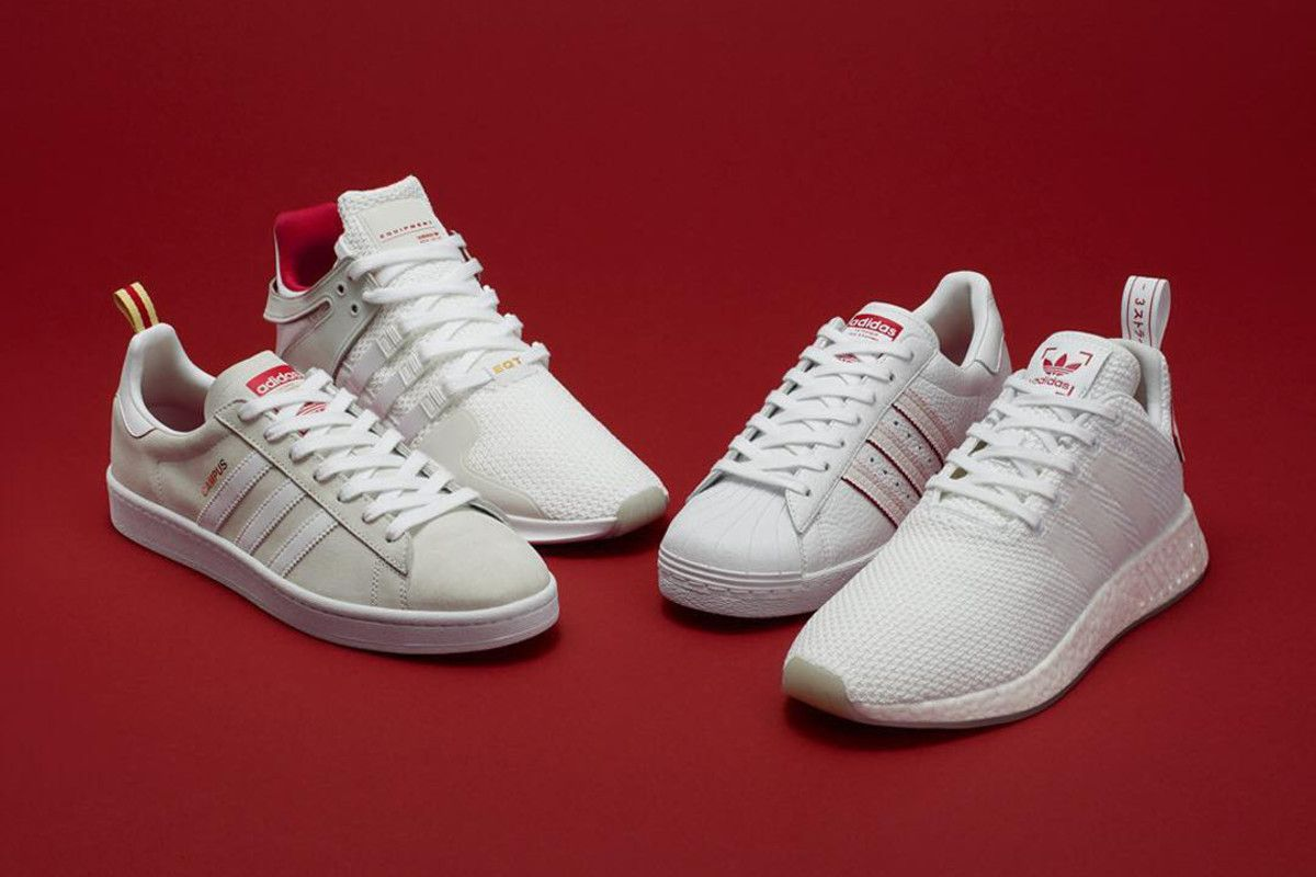 quality design 1dc0c 2978e In honor of Chinese New Year, adidas Originals has assembled a four-piece  pack to celebrate the annual festivities. The design approach for the entire