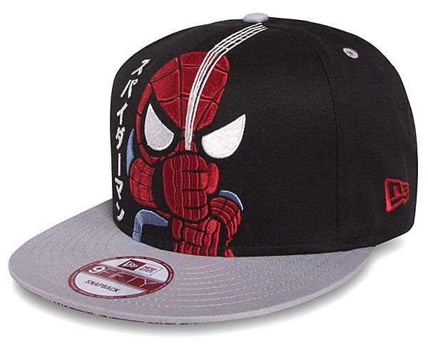 2fed061745a Japanese Spidey Baseball Cap - tokidoki x marvel