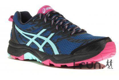 Asics GEL-FujiTrabuco 5 W pas cher - Chaussures running femme running Trail  en promo