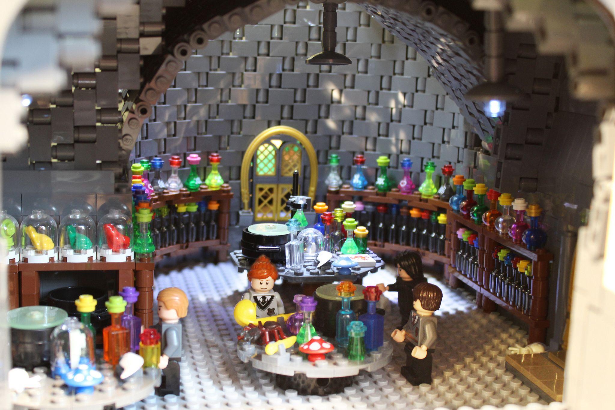 Potions Classroom Lego Hogwarts Hogwarts Lego Harry Potter