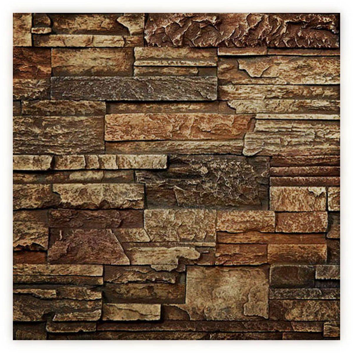 6 W X 6 H Dry Stack Endurathane Faux Stone Siding Panel Sample Limestone 14 9900 Faux Stone Siding Stone Siding Panels Faux Stone Walls