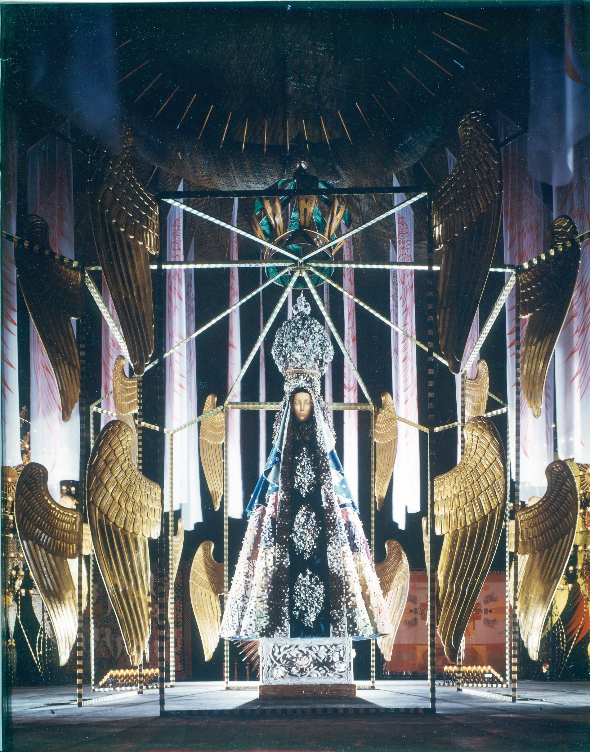 Our Lady Queen Of The Angels Created By Tony Duquette As A Gift To