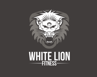 Lion Fitness Logo design - LION FITNESSText changes, color changes and minor design changes are included in the price. Price $500.00