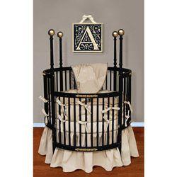 Cream Dream Round Crib Bedding Round Baby Cribs Round Cribs
