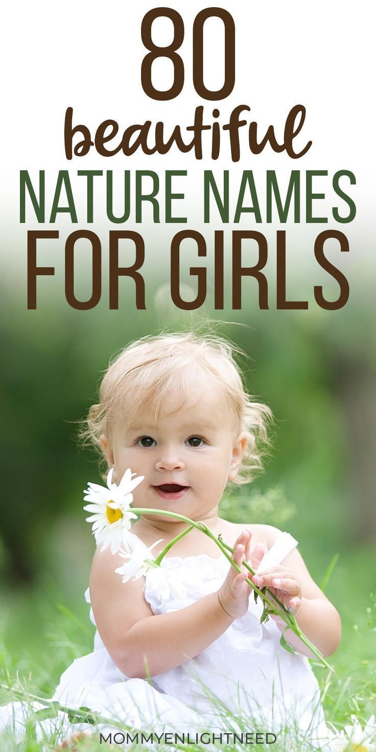 girls list looking Nature perfect unisex baby names